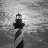 Hatteras Lighthouse Backlit