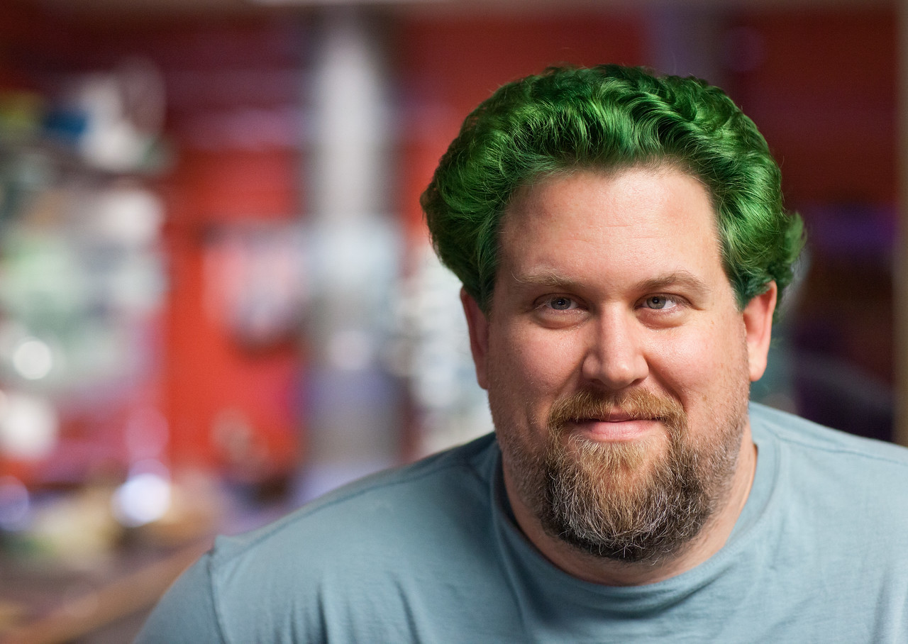 We always said cabbey bleeds Smuggy green... And now he grows it.