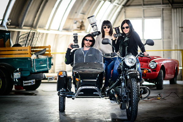 Michael Bonocore, Katherine Cheng and Athena Carey--badasses all.