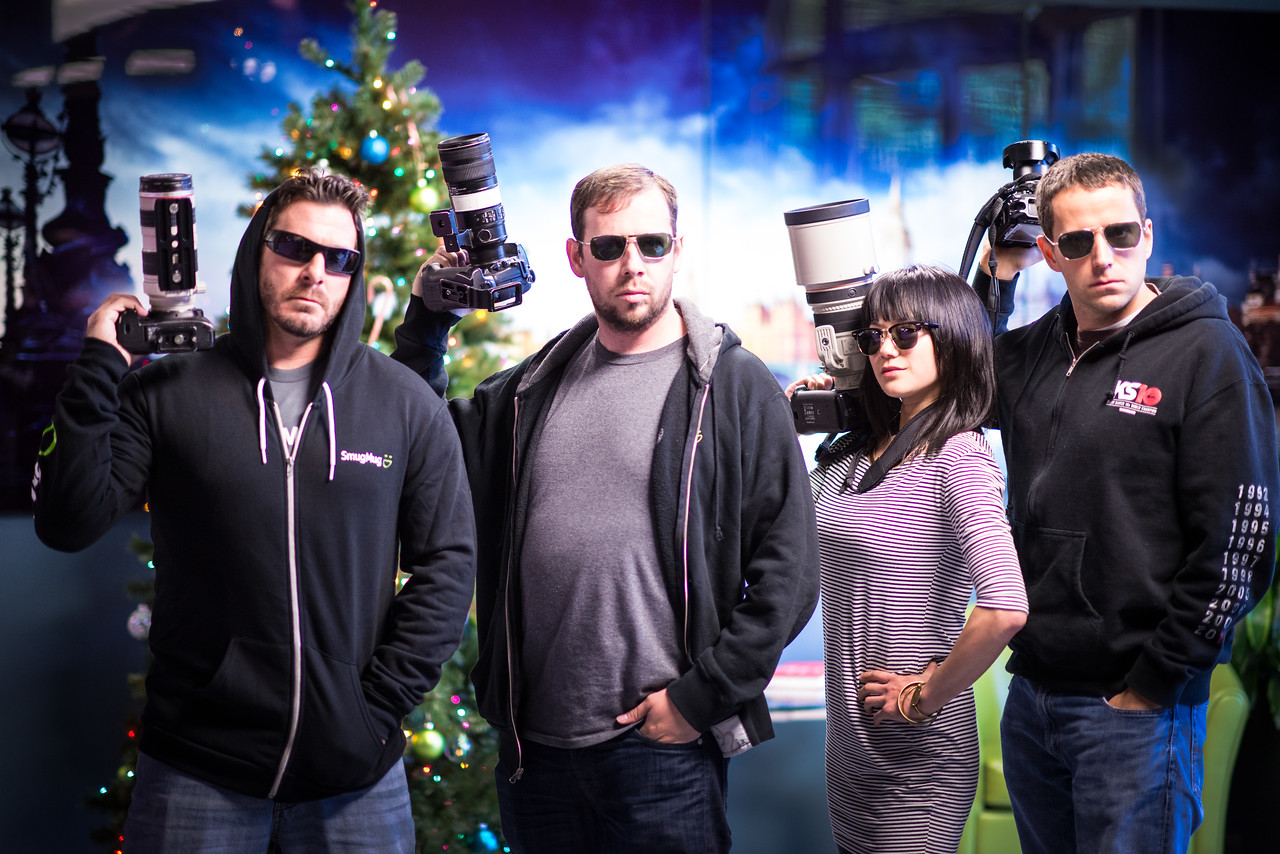 From left to right:  Michael Bonocore, Scott Jarvie, Katherine Cheng, and Ivan Makarov--badasses doing the Bonocore Pose.