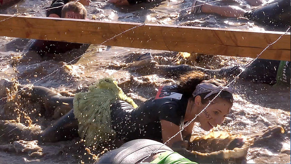 Badass Porcelain Doll in the Tough Mudder