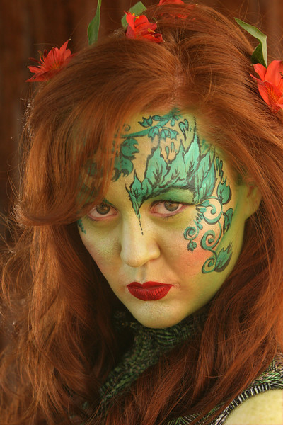 """Meghan as """"Poison Ivy"""" from Batman"""