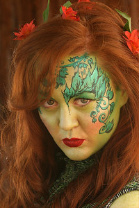 "Meghan as ""Poison Ivy"" from Batman"
