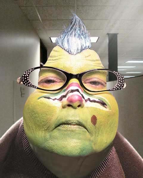 Janet Bracewell as Roz from Monsters, Inc.
