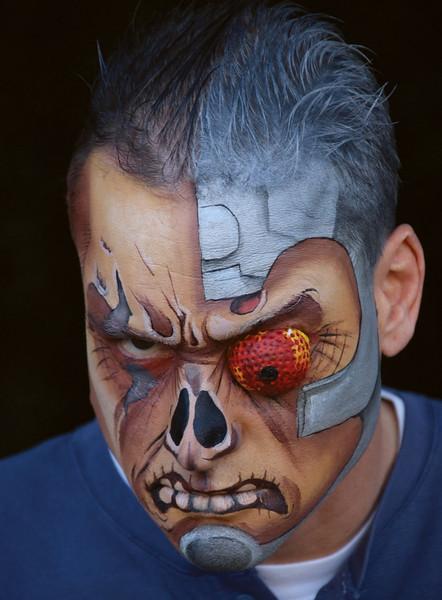 "Sean as ""Deathlok"" in Astonishing Tales"