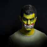 "Josh Mercer as The Incredible ""Hulk"""