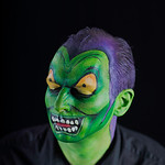 "Brian as ""The Green Goblin"" in Spiderman"