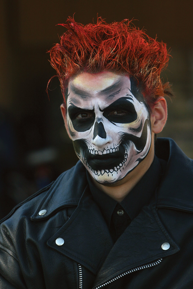 """Dustin as """"Ghost Rider"""""""