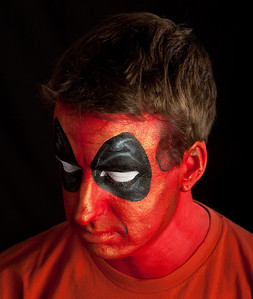 "Dale as ""Deadpool"" from The New Mutants"