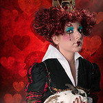 Haley Kotnik as The Queen of Hearts