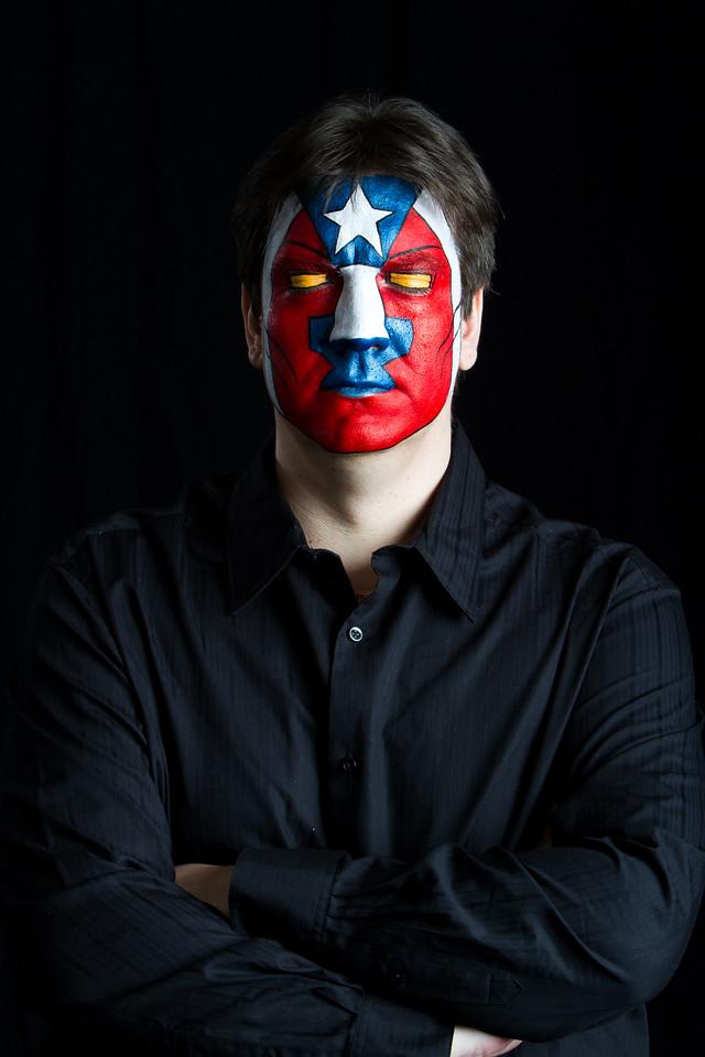"""Steve as """"Detroit Steel"""" from IronMan"""