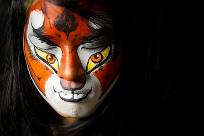 "Iria as ""Master Tigress"" from Kung Fu Panda"