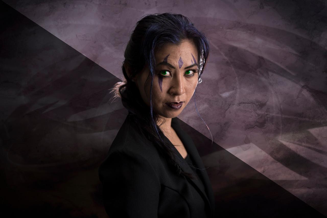 Vivian Yeung as Blink from X-Men