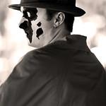 "Dan as ""Rorschach"" in The Watchmen"