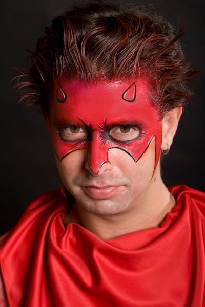 "Eric as ""Daredevil"""