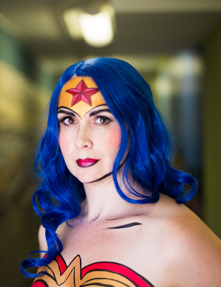 Kate Zimmerman as Wonder Woman