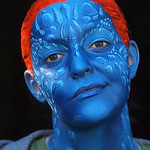 "Wendee as ""Mystique"" from The X-Men"
