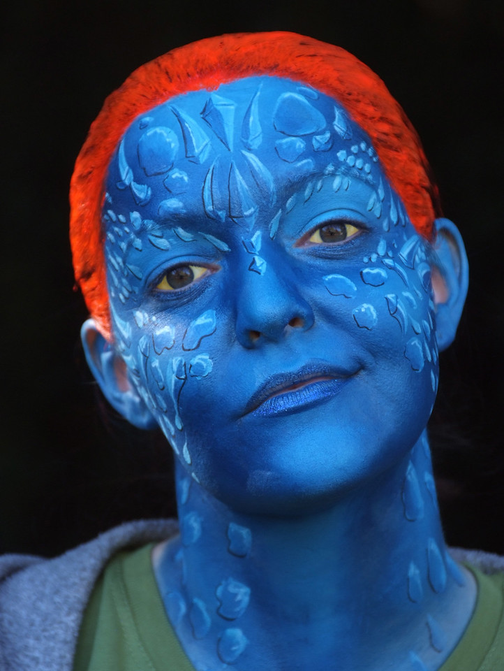 """Wendee as """"Mystique"""" from The X-Men"""