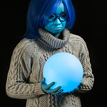 """Mindy Tom as """"Sadness"""" from Inside Out"""