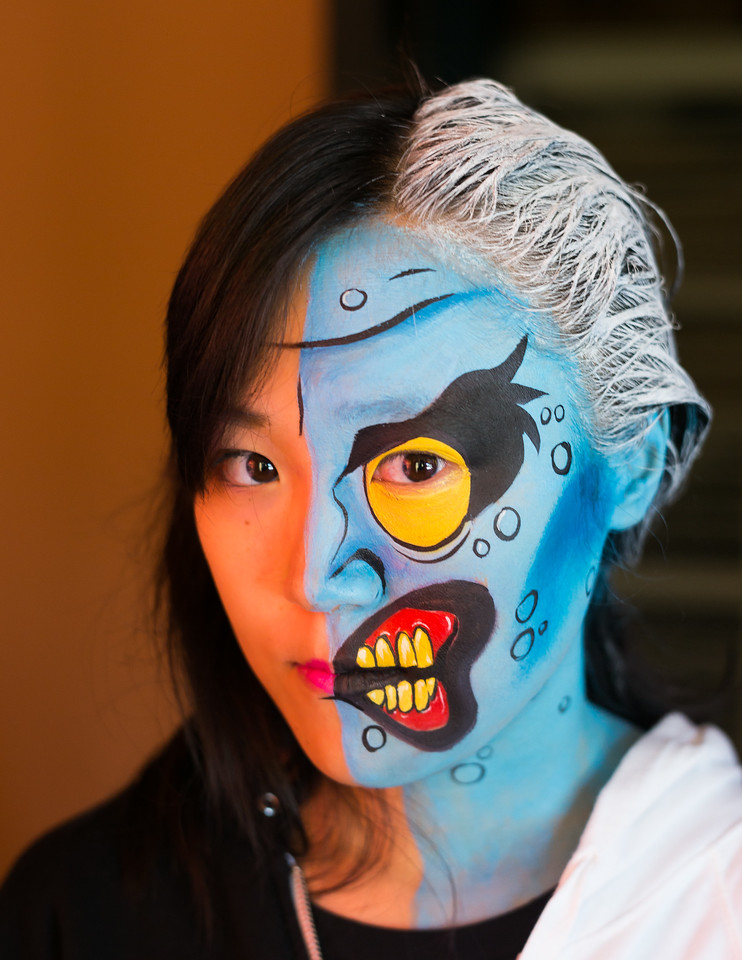 Chen Liu as Two Face