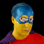 "Shane as ""BartMan"" from The Simpsons"