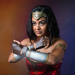 "Harleen Mittal as ""Wonder Woman"""