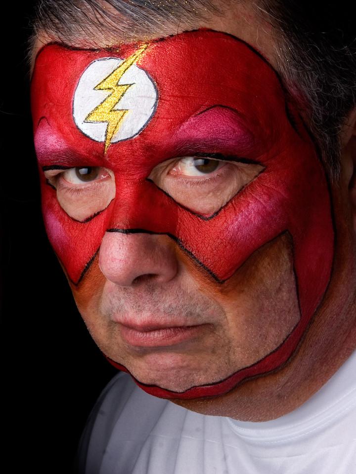 "Steve as ""Flash"""