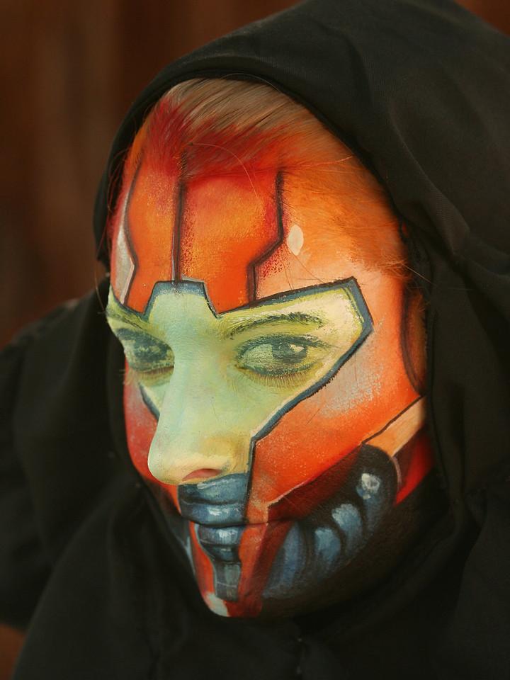 """Kim as """"Samus Aran"""" from Metroid"""