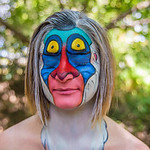 Lauren MacNeish as Rafiki from The Lion King