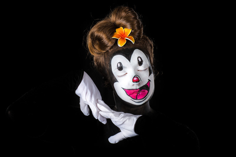 """Stephanie as """"Dot"""" from The Animaniacs!"""
