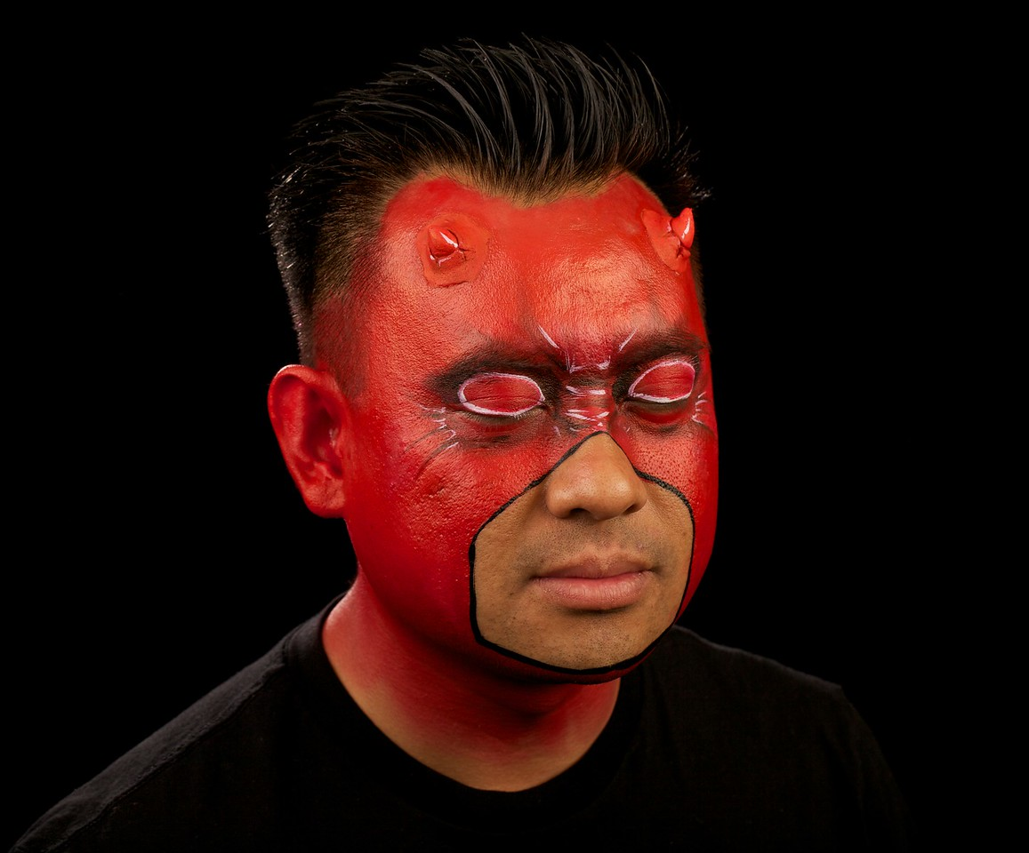 "Duc as ""Daredevil"""