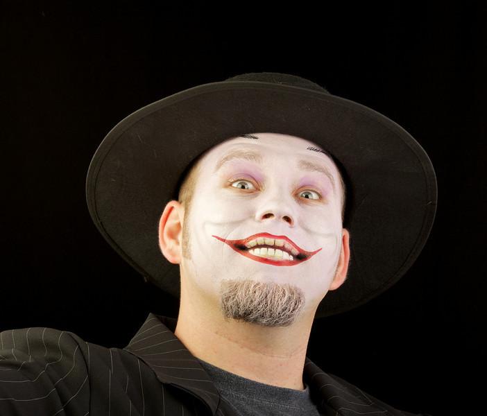 """Nick as """"The Joker"""" from Batman"""
