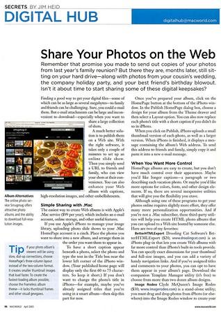 Macworld article