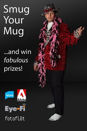Smug your mug poster with Lee