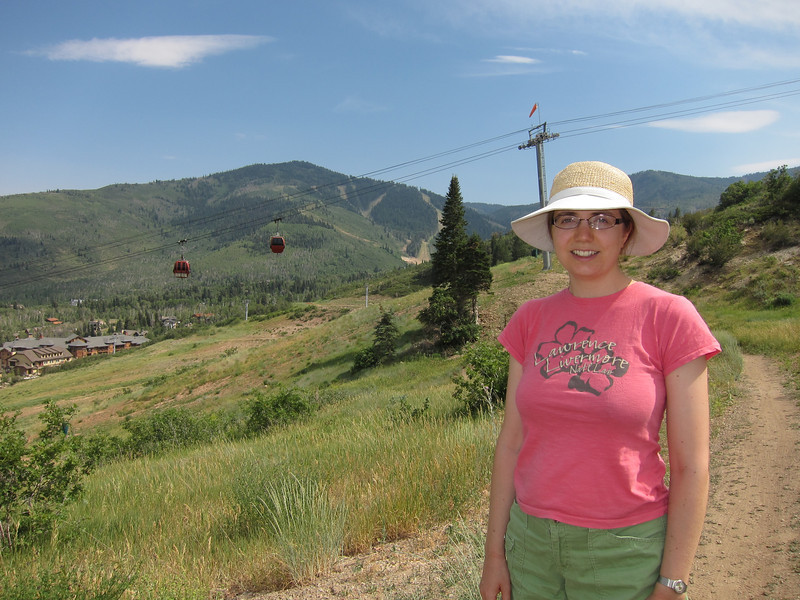 Hiking Holly's Trail in The Canyons, Park City, Utah
