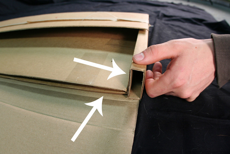 Bay Photo's packaging has a large crumple zone to protect the photos.