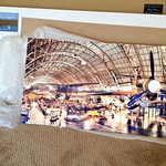 And the print.  It traveled 3800 miles and it's in perfect shape, and looks gorgeous!