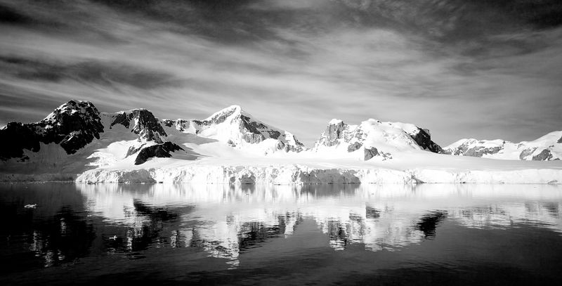 Photo by Chris Michel, taken in Antarctica