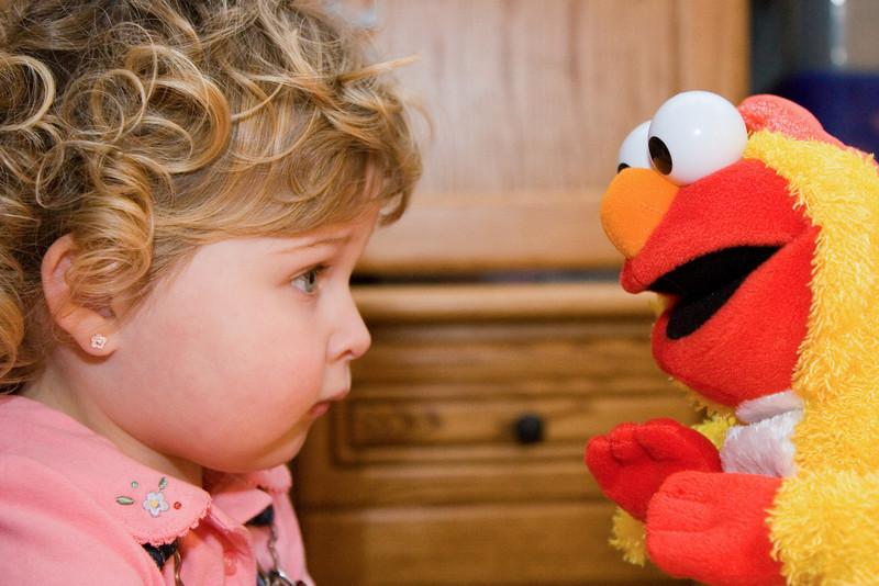 Elmo,  I have waited my whole life to meet you!
