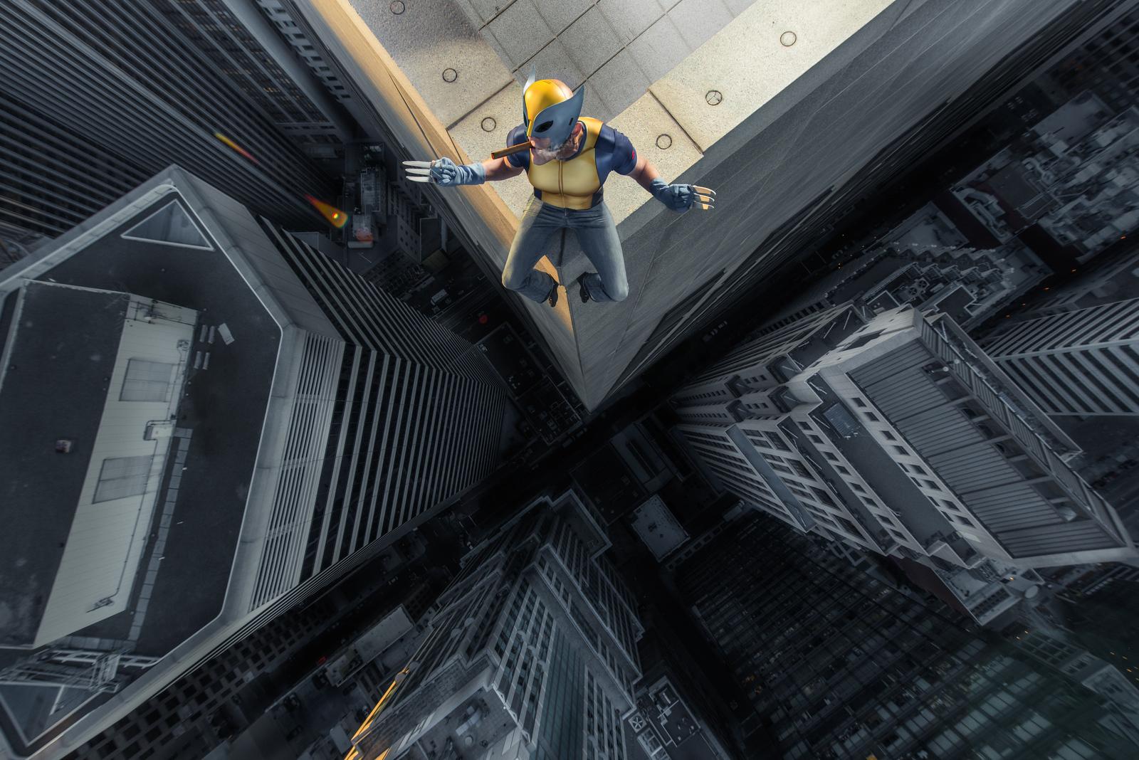 Don on a Skyscraper