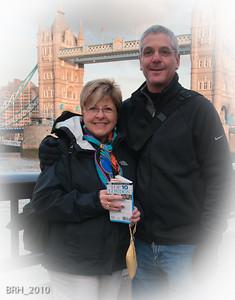 Bruce & Marie in London