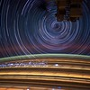ISS030 star trails created with iss030e271644 thru iss030e271714