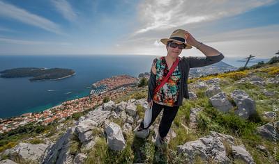Cathy on Mount Srd