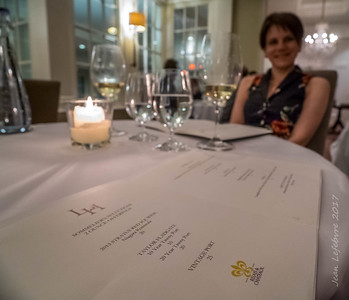 Cathy's Birthday Dinner at Langdon Hall