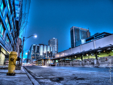 Blue Hour in Toronto