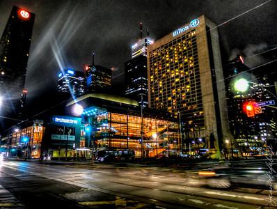 Queen & University, Toronto.