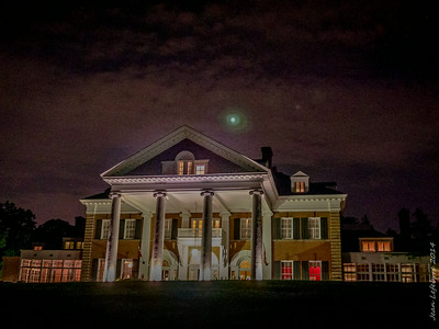 Moon Light over Langdon Hall