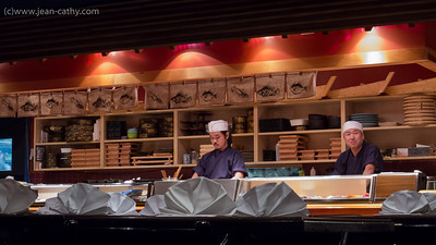 Nami Sushi Before the Concert. Very Good!