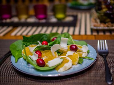 Goat Cheese and Orange Salad