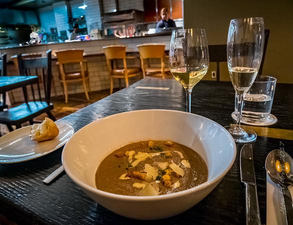 Truffle Mushroom Soup